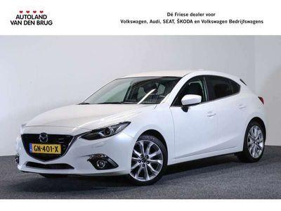 tweedehands Mazda 3 AUTOMAAT 2.0 GT-M 120 PK | Bose | Leder | Head up | Stoelverwarming | Trekhaak | Proefrit aan huis! Bel of mail ons voor een afspraak