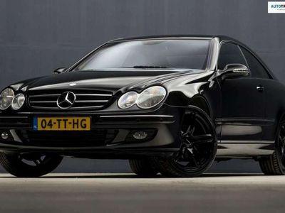 tweedehands Mercedes CLK200 Coupé K. Avantgarde Sport Automaat 163Pk (NAVI, ST