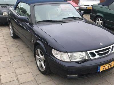 tweedehands Saab 9-3 Cabriolet 2.0t S ..Leer, elec dak, Apk 19-08-2020..