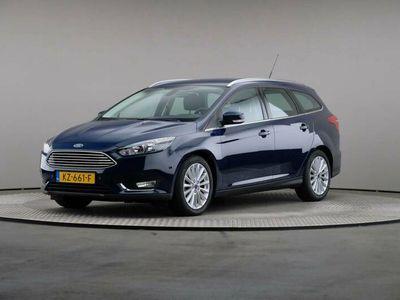 tweedehands Ford Focus 2.0 TDCi Titanium 150 pk Wagon, Navigatie, Trekhaak