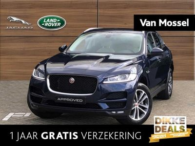 tweedehands Jaguar F-Pace 2.0 Diesel 180pk AWD Prestige - Glazen Panoramadak - Meridian Auto -