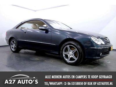 tweedehands Mercedes CLK320 Coupé Avantgarde Leer