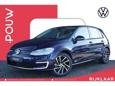 tweedehands VW e-Golf 136pk AUT € 20.900 Excl. BTW + LED Koplampen