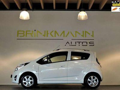 tweedehands Chevrolet Spark 1.0 16V LT White Limited Ed. - LPG-G3 - Leer - APK