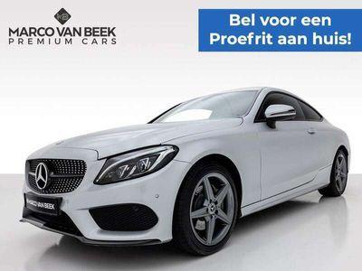 tweedehands Mercedes C180 Coupé Prestige AMG Nw. Prijs € 57.415 Night Camera