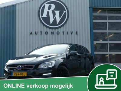 tweedehands Volvo V60 2.4 D6 AWD 50% Wegenbel/ Leder/LED/Dealer ondh/ NL Auto/Ex BTW