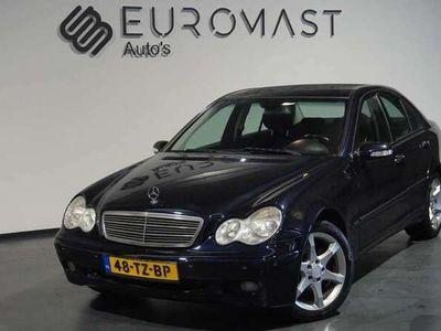 tweedehands Mercedes C180 K. Elegance Automaat/Navi/Pdc/Cruise/Nieuw Apk