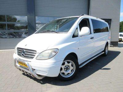 tweedehands Mercedes Vito 120 cdi xl automaat dc dubbel cabine met airco