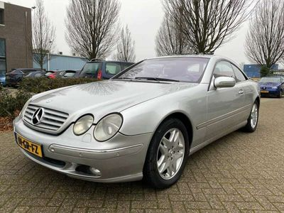 tweedehands Mercedes CL500 AMG SCHUIFDAK / LEDER / AUTOMAAT / youngtimer