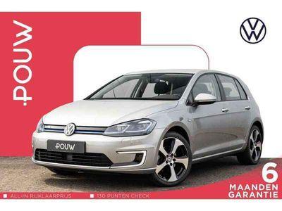 tweedehands VW e-Golf 136pk AUT € 22.250,- EX. BTW + 4% Bijtelling + Navigatie