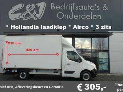 tweedehands Renault Master T35 2.3 dCi L3 hollandia laadklep airco 3 zits le