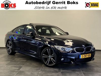 "tweedehands BMW 428 4-SERIE Gran Coupé i High Executive M-Sport Clima Cruise Opendak Xenon Navigatie 19""LM 245 PK!"