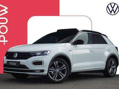tweedehands VW T-Roc 1.5 TSI 150pk DSG Sport + R-Line + Advance Pakket