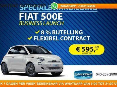tweedehands Fiat 500e Business Launch Edition 8% BIJTELLING!!