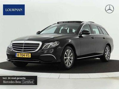 tweedehands Mercedes E200 Estate Premium Plus | Trekhaak | Panoramadak | Sfe