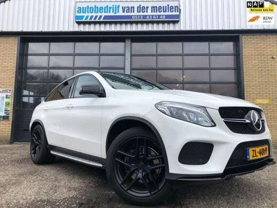 tweedehands Mercedes GLE350 Coupé d 4MATIC AMG styling 55.000 km!