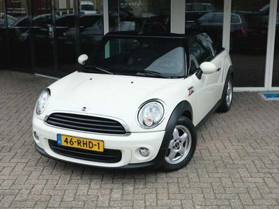 tweedehands Mini One Cabriolet Pepper Org. NL/Chili/Clima