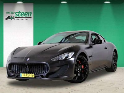 tweedehands Maserati Granturismo 4.7 V8 F1 SPORT 460 PK PININFARINA AUTOMAAT / LEDE