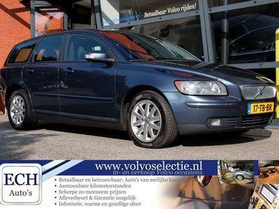 tweedehands Volvo V50 2.0D 136 pk Euro 4, Momentum, Climate Control, Tre