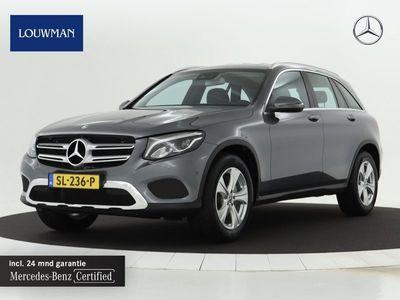 tweedehands Mercedes 250 GLC-KLASSE4MATIC Afneembare trekaak | Lederen bekleding | Sfeerverlichting | Navigatie | Stoelverwarming | Inclusief 24 MB Premium Certified garantie voor Europa.