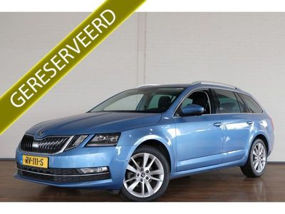 tweedehands Skoda Octavia Combi BWJ 2018 1.6 116 PK TDI Greentech Style Business XENON / LED / NAVI / PRIV.GLASS / CRUISE / STOELVERWARMIN / LMV / PDC
