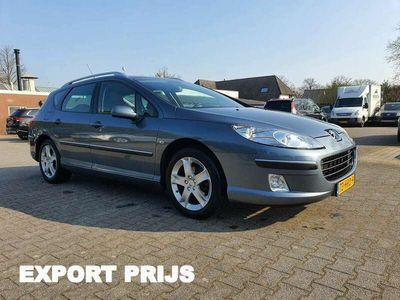 tweedehands Peugeot 407 SW 2.0 HDiF Premium *PANO+NAVI+PDC+ECC+CRUISE*