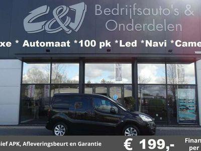 tweedehands Citroën Berlingo 1.6 BlueHDI 100 pk S&S automaat luxe bomvol lease