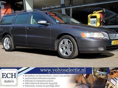 tweedehands Volvo V70 2.4D 163 pk Summum, Leer, Xenon, Elektr. stoel, PD