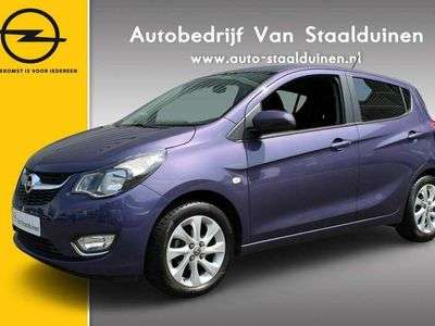 tweedehands Opel Karl 1.0 ecoFLEX Cosmo Climate Controle| Stoel\Stuur verwarming| Cruise Controle| Afneembare trekhaak| Velgen| Parkeer sensoren