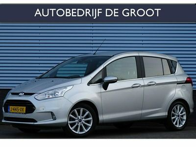 tweedehands Ford B-MAX 1.0 EcoBoost Titanium Navigatie, Climate, Cruise, LED, PDC