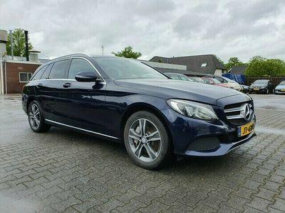 tweedehands Mercedes E350 C-Klasse EstateLease Edition (INCL-BTW) *NAVI+VOLLEDER+LED-LIGHTS+ECC+PDC+CRUISE*