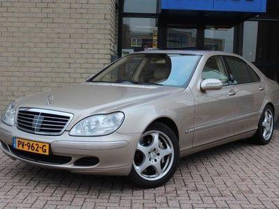 tweedehands Mercedes S600 LANG DISTR.-PTS-MEMORY-SCHUIFD.-LUCHTV.-COMAND-XENON-COMPLEET