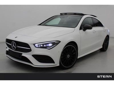 tweedehands Mercedes CLA200 Coupé Automaat AMG Line | Premium Plus Pack | Nigh