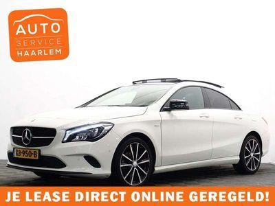 tweedehands Mercedes CLA200 Prestige AMG Edition Aut- Panodak, Leer, Navi, Xen