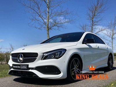 tweedehands Mercedes CLA180 Coupé | AMG | Panorama-schuifdak | Stoelverwarming | Apple Carplay/Android Auto