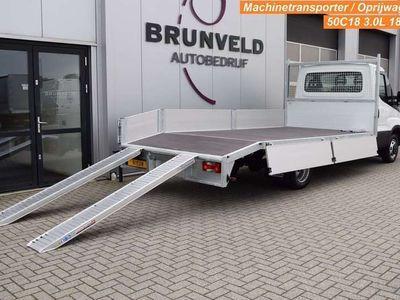 tweedehands Iveco Daily 50C18 3.0 180pk Euro 6, NIEUW ! Machine transport/