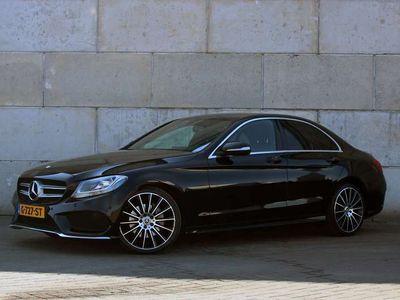 tweedehands Mercedes C220 C 220CDI AUT AMG Line Navi, Burmester, 19 inch