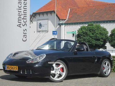 tweedehands Porsche Boxster S 3.2 260 PK / Licht metalen velgen 18'' / NAP / C