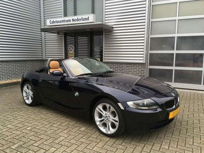 tweedehands BMW Z4 Roadster Nightblue / Caramel leder 2.0i