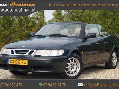 tweedehands Saab 9-3 Cabriolet 2.0 turbo AUTOMAAT SE AIRCO - CRUISE - LEDE