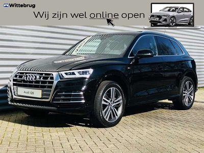 "tweedehands Audi Q5 2.0 TFSI 252pk quattro S Line Edition / Panoramadak / 20"" LM velgen / MMI navi plus / Virtual Cockpit / verlengde garantie t/m 23-05-2023"