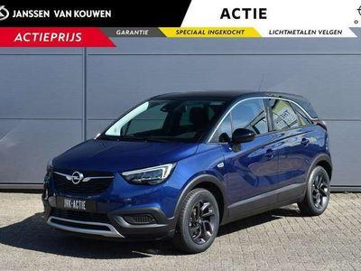 tweedehands Opel Crossland X 1.2 Edition 2020 Janssen Van Kouwen Aalsmeer | Onb