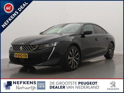 """tweedehands Peugeot 508 1.6 180pk EAT8 Automaat GT-Line   Navigatie   Full Led   Keyless   Parkeerassistent   18"""" lm velgen  """