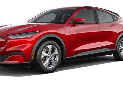 tweedehands Ford Mustang Mach-E 75kWh RWD 258PK Actieradius tot 450 km   Digitaal dashboard   15.5 inch Touchscreen   Adaptive Cruise Control   Full LED verlichting   Voorruit-, stoel- en stuurverwarming   750 kg trekgewicht   In 2021 leverbaar