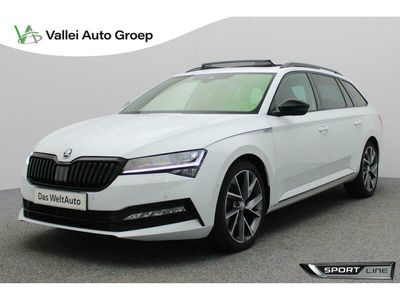 tweedehands Skoda Superb Combi 1.5 TSI 150PK DSG ACT Sportline Business