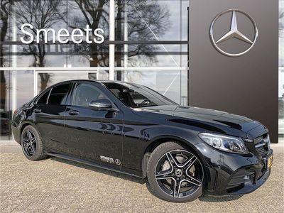 tweedehands Mercedes C200 Automaat | AMG-line | Navigatie | Achteruitrijcamera |