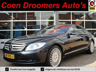 tweedehands Mercedes CL500 (Automaat,Adaptive Cruise Ctrl,Luchtvering,Έlectric.Stoel+m