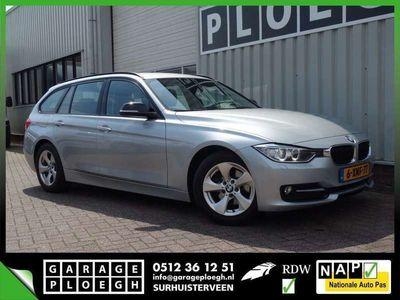tweedehands BMW 320 320 Touring D 164pk Full-Led Navi Zwart-Leer Elek-k