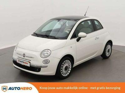 tweedehands Fiat 500 1.2 Lounge 70PK EP44862 | Pano | Airco | Bluetooth