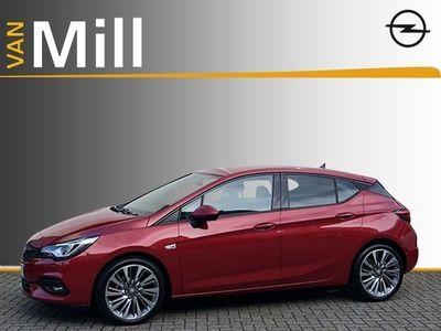 tweedehands Opel Astra 1.2 Elegance 130PK N20650 | Leder | Sportchassis | OPC Interieur | Massagestoel | High Gloss Black Pakket |